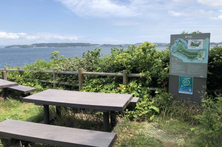 海浜展望台からの眺めは最高