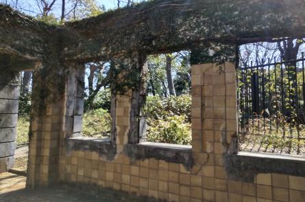 旧フランス領事館公邸遺構