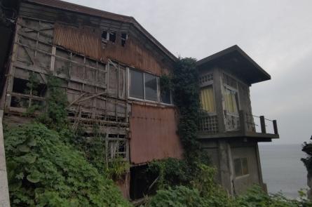 江ノ島の廃墟